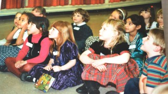 Thanks for posting this Chrissie! Kourtni sitting at the front with another good egg, Rosa.